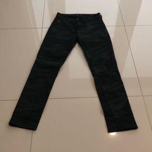 Women's Hudson Camo Skinny Jeans Size 27